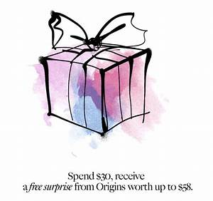 Origins: It's Your Lucky Day! Get A Free Mystery Gift (w ...
