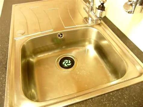 sink plugs kitchen byretech magi kitchen sink how it works from 2274