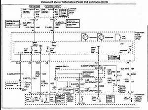 2003 Chevy Silverado Instrument Cluster Wiring Diagram