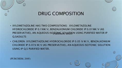paper organicchemlabxylometazoline