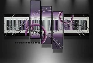 Enduit Interieur Pas Cher : tableau moderne pas cher avec toile deco avec peinture d ~ Premium-room.com Idées de Décoration
