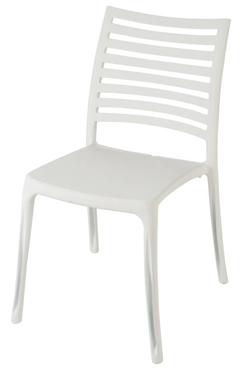 chaises blanche chaise jardin blanche