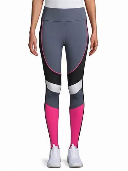 Leggings Avia Active Colorblock Pink Grey Activewear