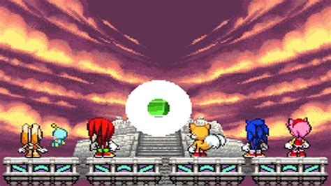 ending for sonic the sonic advance 3 alter emerald normal
