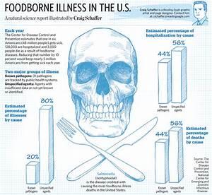 Sketchbook: Foodborne illness in the U.S.