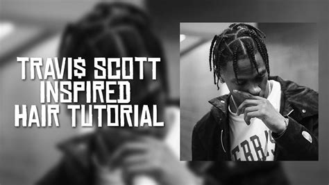 travi scott hair tutorial youtube