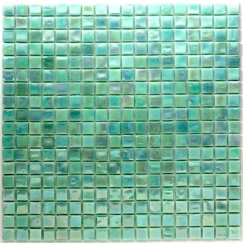 mosaic glass paste green rainbow carrelage mosaique