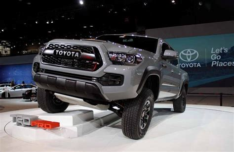 2018 Toyota Tacoma Release Date, Price, Specs, News