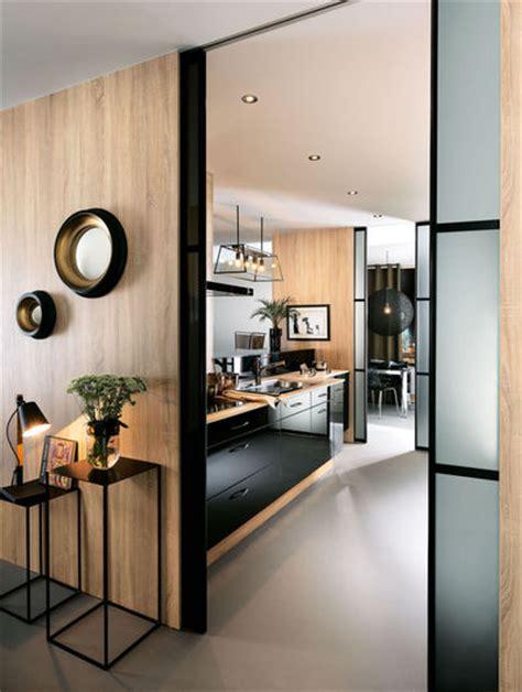 mitigeur cuisine noir avec douchette cuisine mobalpa les plus belles cuisines ouvertes côté