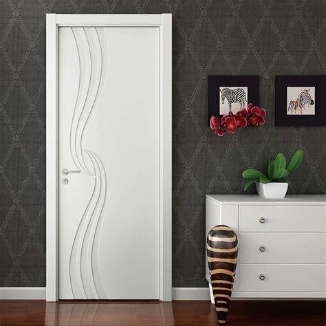 porte d interieur laquee blanc porte int 233 rieure de placage en bois mat blanc de laque d oppein mspd51 photo sur fr made in
