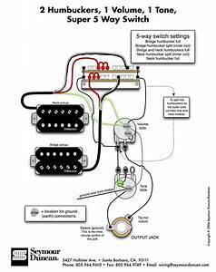 Wiring Diagrams For Guitar Humbuckers