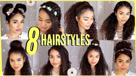 easy hairstyles  long thick curly hair hairstyles