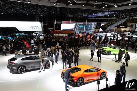 The Cars And Watches Of The 2019 Geneva