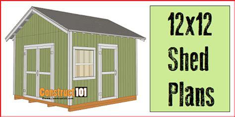 12 X 12 Storage Shed Plans Free Listitdallas