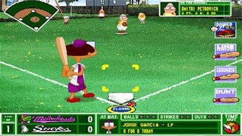 Backyard Baseball  Symbian Game Backyard Baseball Sis