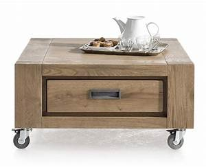 santorini coffee table 80 x 80 cm 1 drawer tt With table basse largeur 40 cm