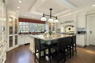 Large Kitchen Plans 64 Deluxe Custom Kitchen Island Designs Beautiful