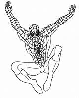Coloring Pages Spiderman Superhero Template Colouring Templates Printable Superheroes Super Heroes Boys Draw Google Games Superman sketch template