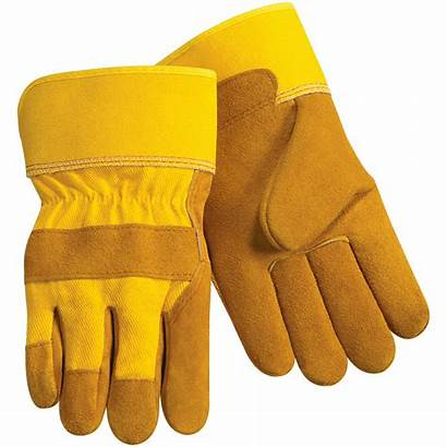 Gloves Glove Leather Clipart Palm Transparent Cuff