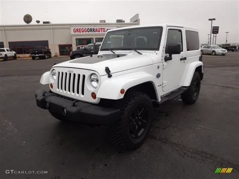 white jeep with teal accents 2012 bright white jeep wrangler sahara arctic edition 4x4
