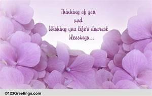 Thinking Of You! Free Sympathy & Condolences eCards ...