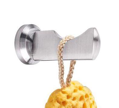nero badshop design bad accessoires modern edelstahl geb 252 rstet kleiderhaken kaufen