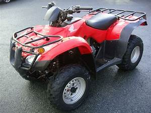 2012 Honda Trx 250 Manual Light Work Atv Farm Quad Bike