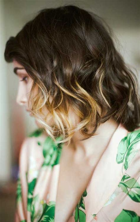Hairstyles With Tips by 40 Ombre Hair Cuts For Ombre Hair