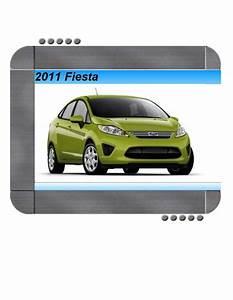 Ford Fiesta 2011 Factory Service  U0026 Shop Manual