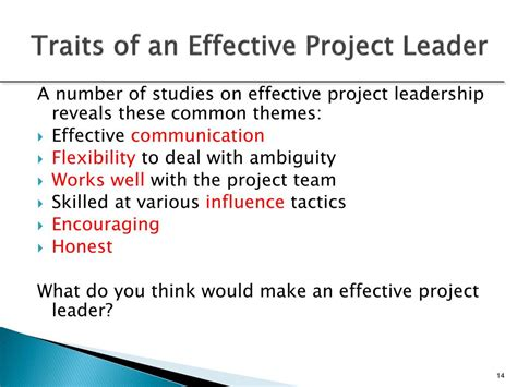 leadership   project manager powerpoint
