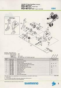 Shimano Spare Parts Catalogue