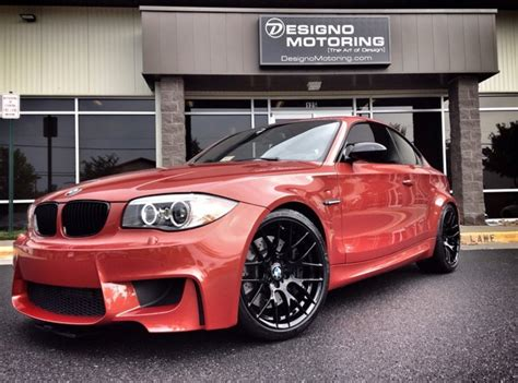 2011 Bmw 1m Valencia Orange 24k