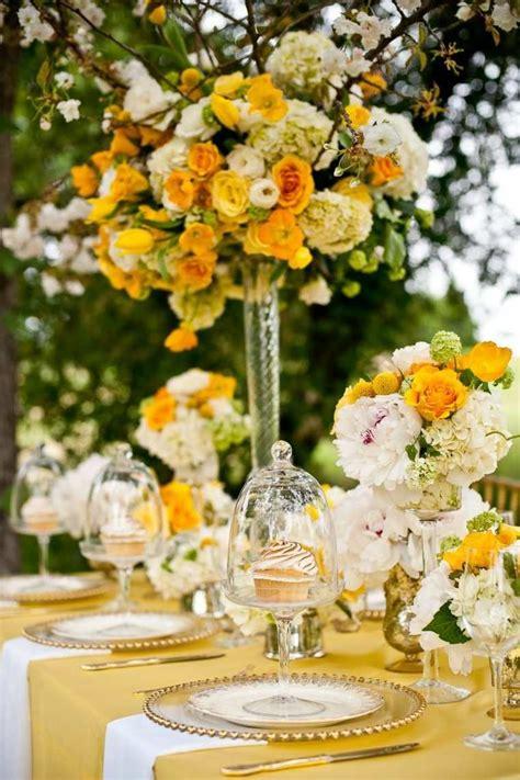 deco table mariage  compositions florales pour lete