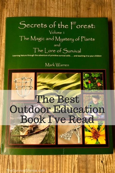 secrets   forest   outdoor education book