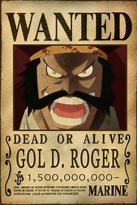 Gol D. Roger Bounty by AnimeGalaxyHD on DeviantArt