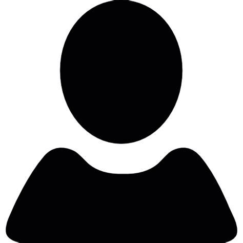 black user shape free icons