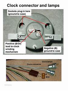 How Many Wires Connect To The Back Of 1965 Clock
