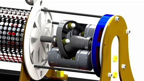 reciprocating movement  pistons   swash plate youtube