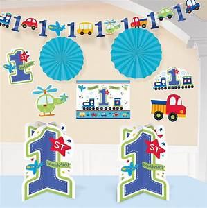 Baby 1 Geburtstag Deko : alle an bord 1 geburtstag deko set 10 tlg f r jungen 1 geburtstag baby party happy ~ Frokenaadalensverden.com Haus und Dekorationen