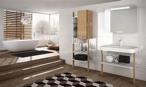 le style scandinave dans la salle de bains inspiration bain With salle de bain style nordique