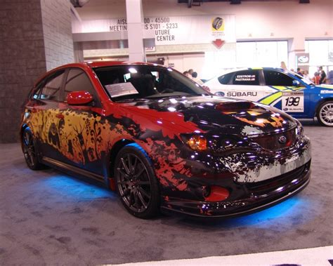 subaru custom cars halloween custom subaru impreza wrx photo s album