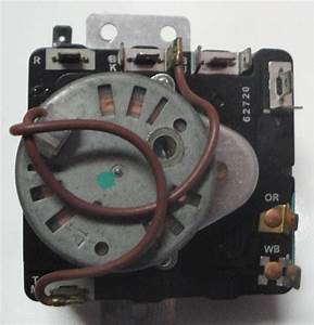 Whirlpool Electric Dryer Timer 8299781 C 60 Hz Model M460