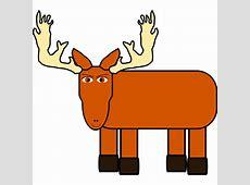 Clipart cartoon moose remix