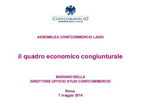 Ufficio Studi Confcommercio Il Quadro Economico Congiunturale Ufficio Studi