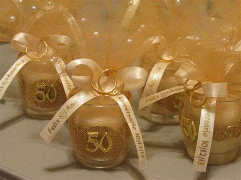 anniversary party favors diy