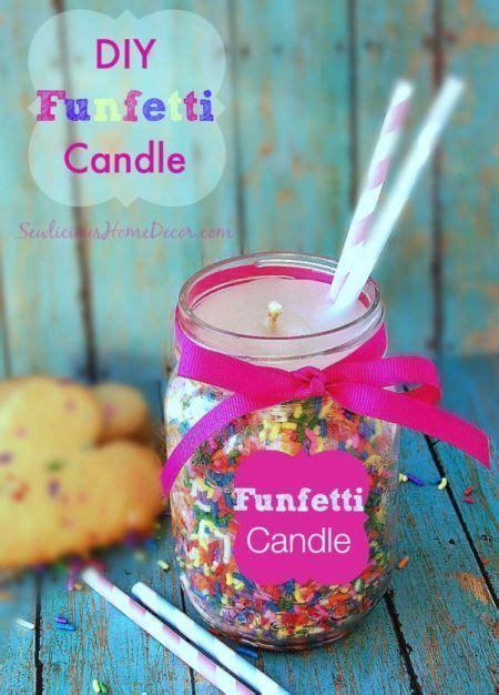 diy funfetti candle candle making