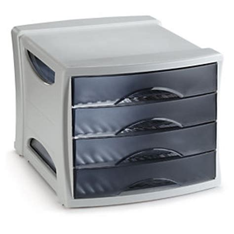 module de rangement bureau module de classement 4 tiroirs esselte fournitures de