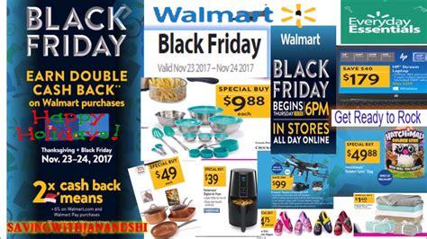 Walmart Black Friday Full Ad 2017 Youtube