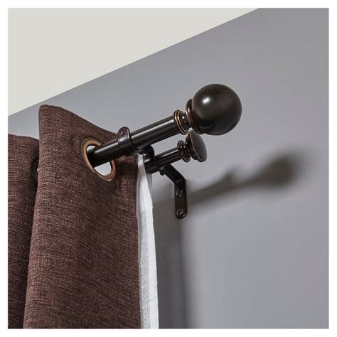 Umbra Curtain Rod Target by Loft By Umbra Curtain Rod Bronze 66 120