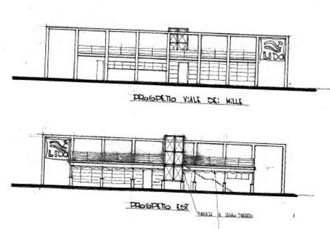 traliccio dwg costruzione stabilimento balneare progetto realizzato in